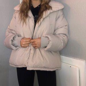 Boohoo puffer jacket